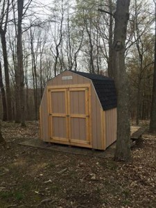 Storage Shed in the community at Hotel Rv Resort
