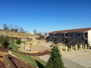 Extended stay homes for oil and gas industry