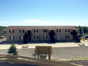 permanent ranch homes at Hotel RV for cracker plant and oil field worker housing